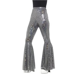 70s Disco Flared Trousers, Ladies