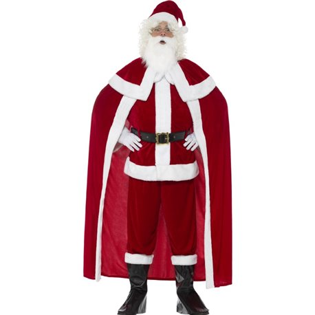 Deluxe Santa Claus Costume with Trousers