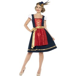 Deluxe Traditional Claudia Bavarian Costume