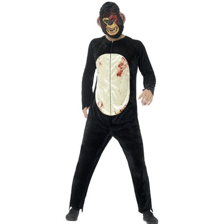 Deluxe Zombie Chimp Costume