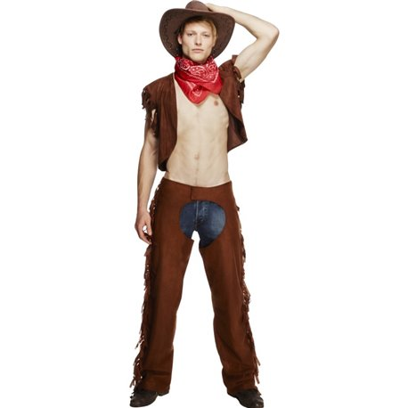 Fever Male Ride Em High Cowboy Costume
