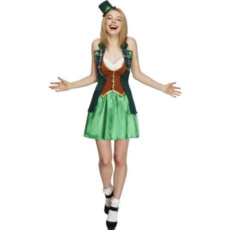 Fever St Patricks Costume, with Jacket