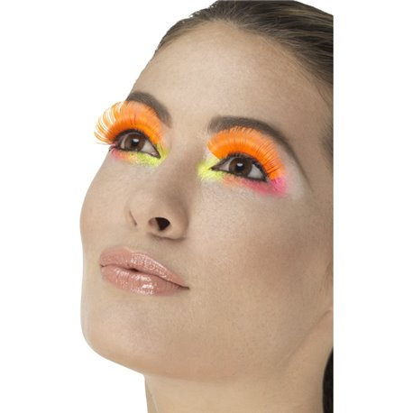 80s Party Eyelashes3