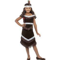 Native American Inspired Girl Costume