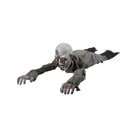 Animated Crawling Zombie Prop, with Sound