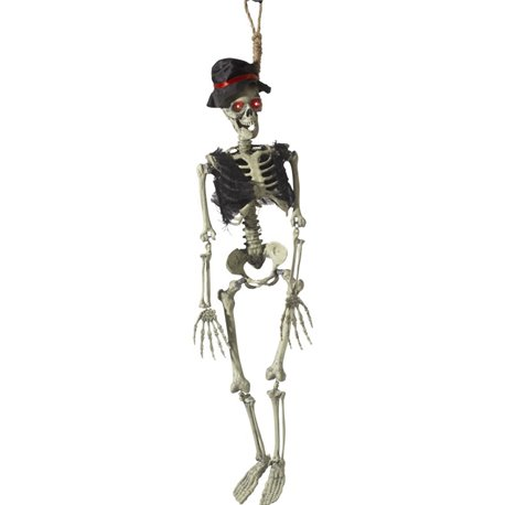 Animated Hanging Groom Skeleton Decoration