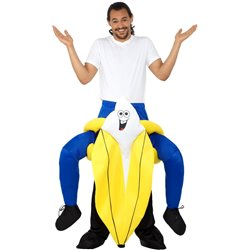 Piggyback Banana Costume