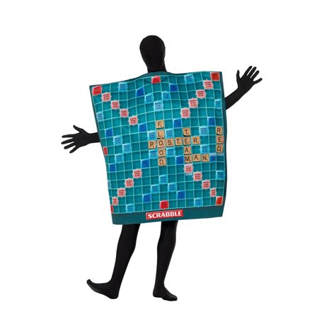 Scrabble Board Costume