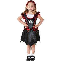 Toddler Pirate Skull & Crossbones Costume