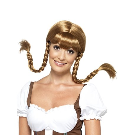 Bavarian Babe Wig, Plaited