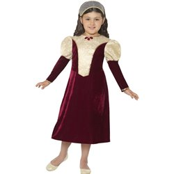 Tudor Damsel, Princess Costume