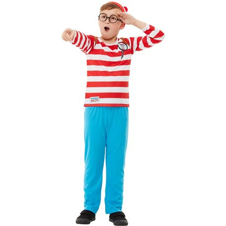 Where's Wally? Deluxe Costume