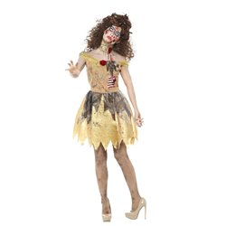 Zombie Golden Fairytale Costume