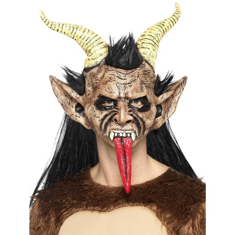 Beast / Krampus Demon Mask