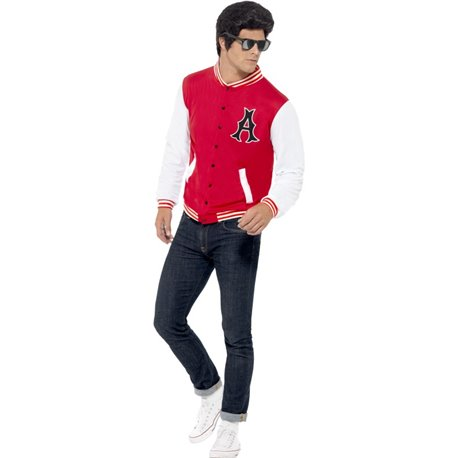 50s College Jock Letterman Jacket