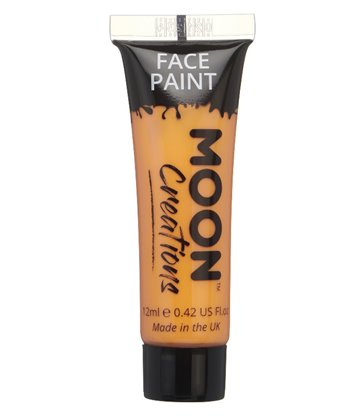 Moon Creations Face & Body Paint, Orange