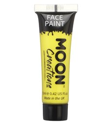 Moon Creations Face & Body Paint, Yellow