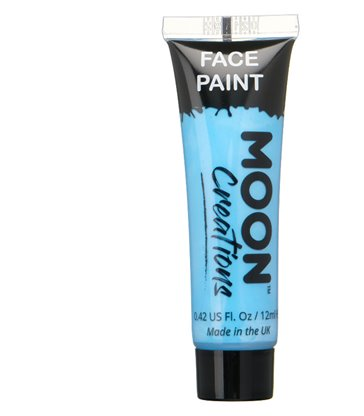 Moon Creations Face & Body Paint, Light Blue