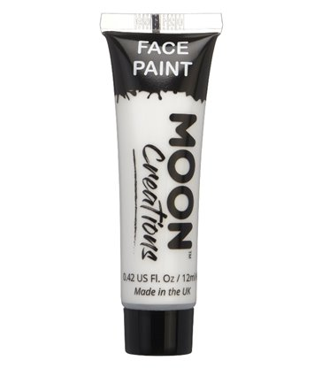 Moon Creations Face & Body Paint, White