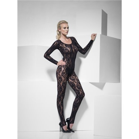 Body Stocking Black Lace