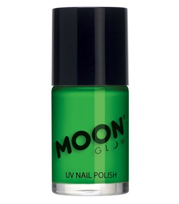 Moon Glow Intense Neon UV Nail Polish, Neon Green