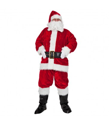 Regal Plush Professional 8pc Santa Outfit
