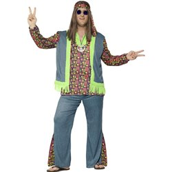 Curves Hippie Costume