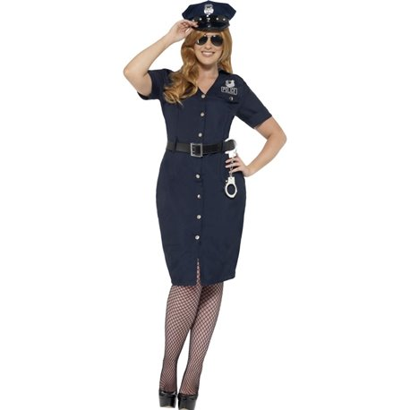 Curves NYC Cop Costume2