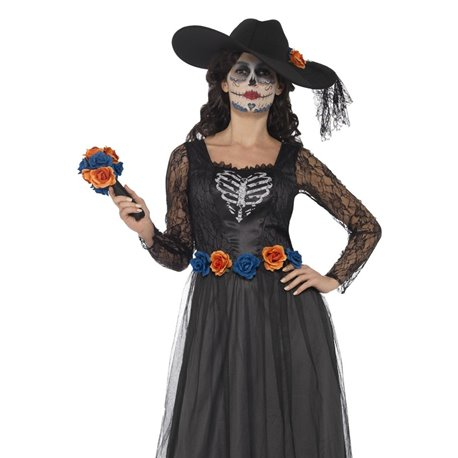 Day of the Dead Skeleton Bride Costume2