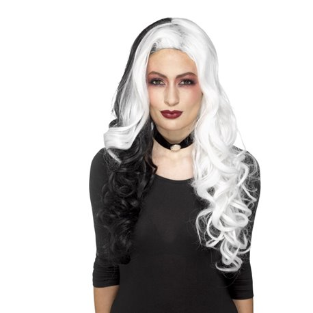 Deluxe Evil Madame Wig2