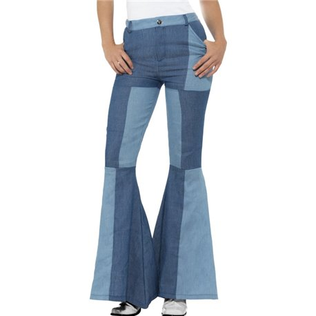 70s Deluxe Flared Trousers, Ladies